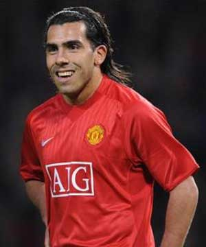 the best players for the year 2009 Carlos_Tevez_300