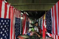US eases import ban on Myanmar ahead of Obama trip