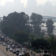 Emissions limits could cut climate damage - study