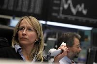 European shares turn lower as EU summit hopes dim