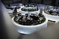 European shares gain but euro dips on ECB bond plan