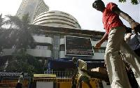 BSE Sensex snaps 3-day rally; services PMI drops