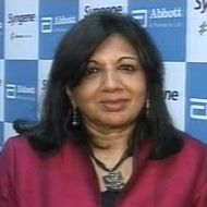 Kiran Mazumdar , CMD, Biocon