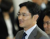 Samsung promotes Lee's son and heir to vice chairman