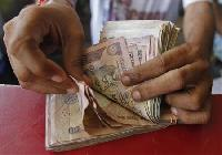 Rupee drops; global risk sentiment weak