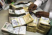 Rupee at day's high tracking euro, shares rise
