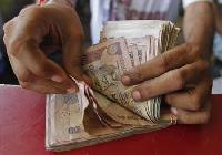 Rupee rises on lower current account deficit forecast