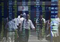 Asian shares fall on wariness over Spain