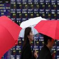 Asian shares ease from rally before ECB decision