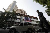 Sensex flat amid seesaw trade; Kingfisher, USL, UB up 5-8%