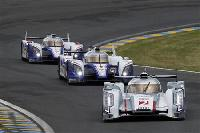 Audi stamp authority as Le Mans sun rises