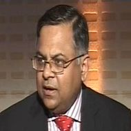 N Chandrasekaran, CEO & MD, TCS