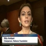 Nita Ambani , Chairperson, Reliance Foundation