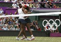 Williams sisters win women's doubles gold at Olympics
