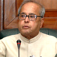 Pranab Mukherjee , Finance minister, GoI