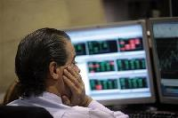 Growth, European worries send shares lower