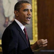 In speech, Obama pushes activist govt & takes on far right