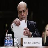 Fed stimulus benefits clear, Budget cuts a risk: Bernanke