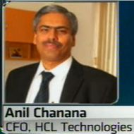Anil Chanana, CFO, HCL Technologies