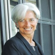 Christine Lagarde, MD , IMF