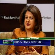 Security discussions with govt still underway: RIM India