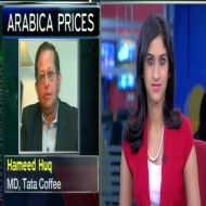 Are volatile Arabica coffee prices affecting Tata Coffee?