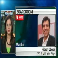 Hitesh Oberoi, CEO and MD, Info Edge