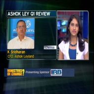 K Sridharan, chief financial officer, Ashok Leyland
