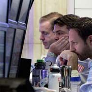 World stocks inch up, capped by Spanish crisis