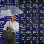 Nikkei steadies after eight straight weeks of declines