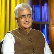 Salman Khurshid, Union Law Minister