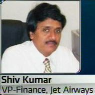 M Shivkumar, Sr VP-Finance, Jet Air