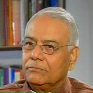 Yashwant Sinha, Ex-finance minister, BJP