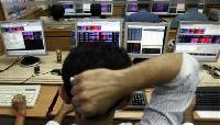 Nifty flat amid seesaw trade; Tata Motors top gainer