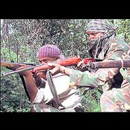 CRPF jawan killed in encounter with Naxals