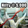 Nifty closes above 5000 on better-than-expected Q2 GDP data
