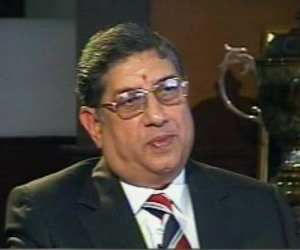 India Cements head Srinivasan quizzed again by CBI